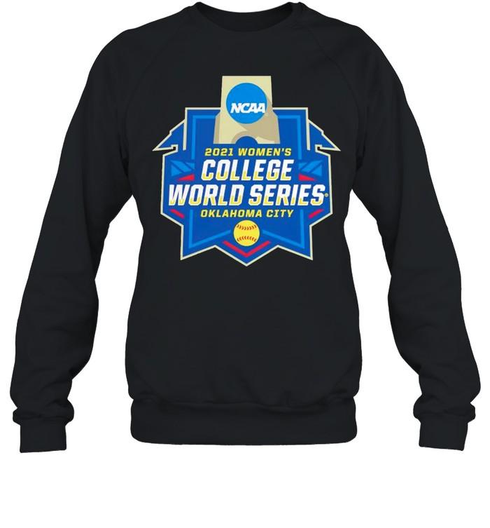 Oklahoma City 2021 NCAA Softball Womens College World Series shirt Unisex Sweatshirt