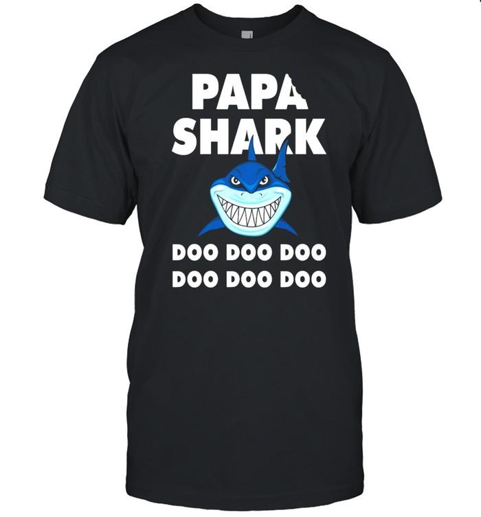 Papa Shark Doo Doo Doo Doo Doo Doo shirt