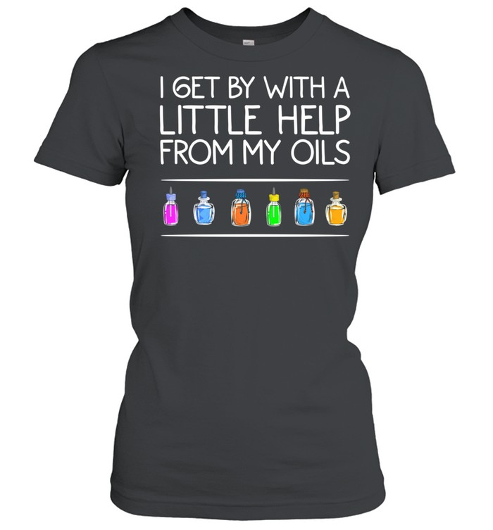 Essential Oil Cool Help From My Oils shirt Classic Women's T-shirt