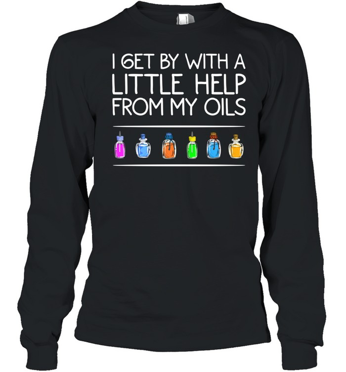 Essential Oil Cool Help From My Oils shirt Long Sleeved T-shirt