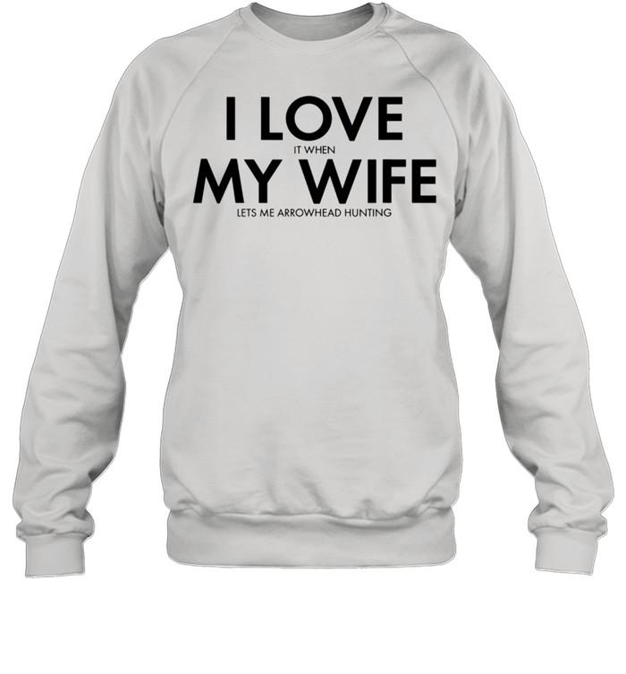 Mens Arrowhead Collector Arrowhead Hunting shirt Unisex Sweatshirt