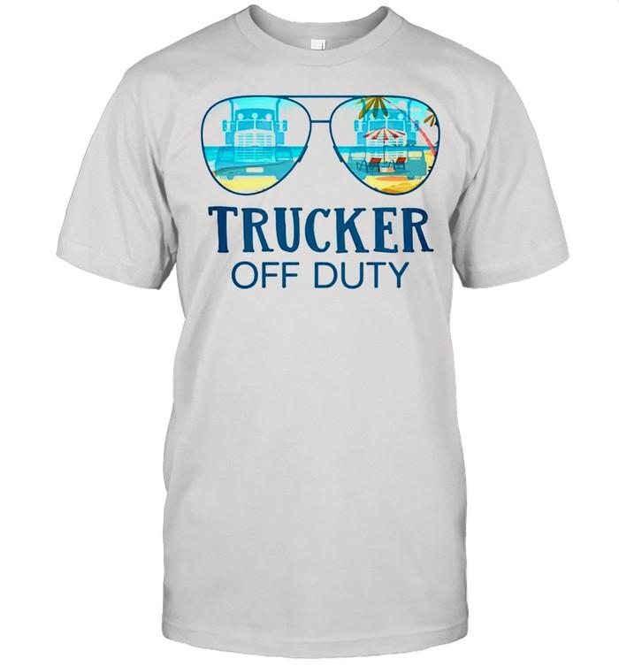 Trucker off duty shirt