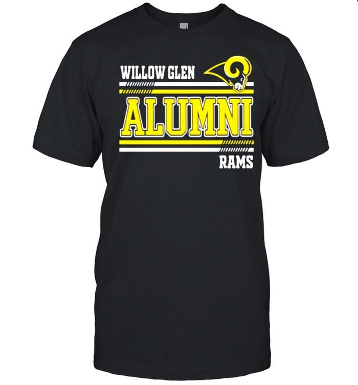 Willow glen alumni rams shirt