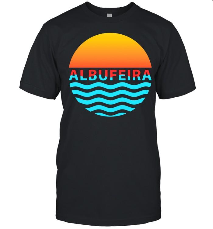 Albufeira,Algarve Beach portugal summer Faro portimao shirt Classic Men's T-shirt