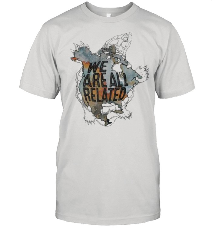 We Are All Related Turtle  Classic Men's T-shirt