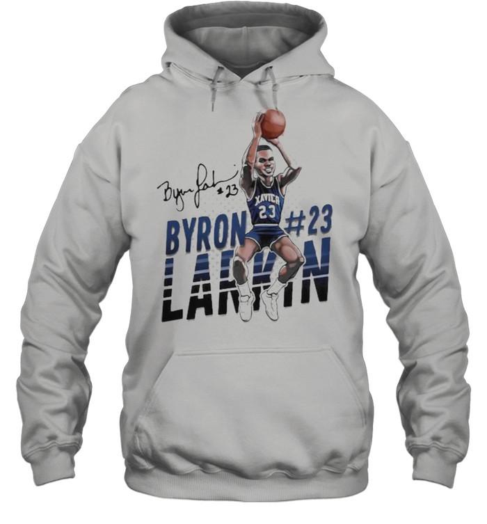 Byron larkin basketball signature shirt Unisex Hoodie