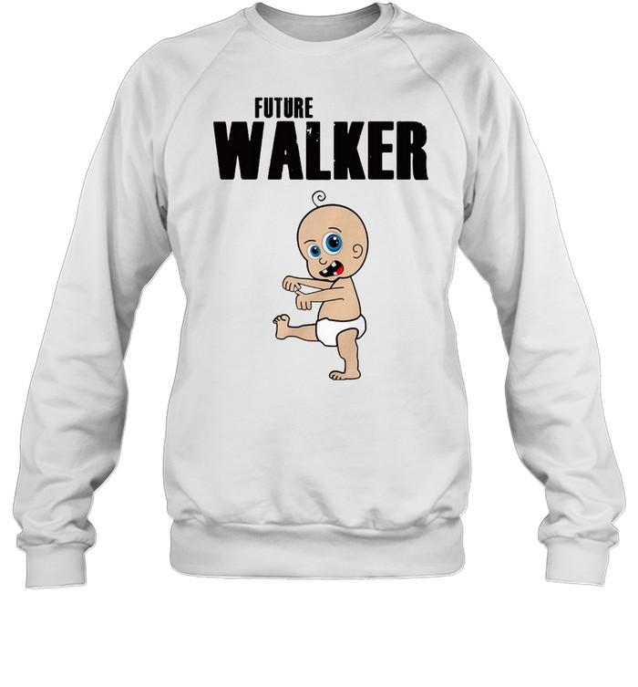 Future Walker Zombie Toddler  Unisex Sweatshirt