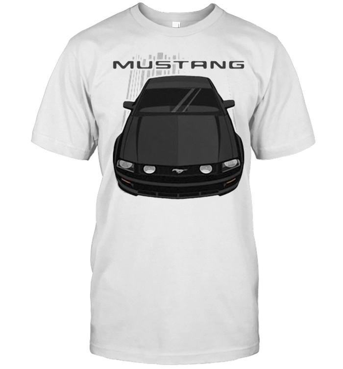 Mustang GT 2005 to 2009 Black  Classic Men's T-shirt