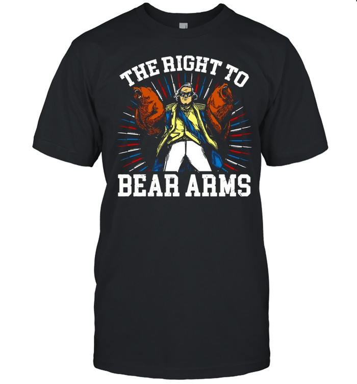 The Right To Bear Arms Vintage T-shirt Classic Men's T-shirt