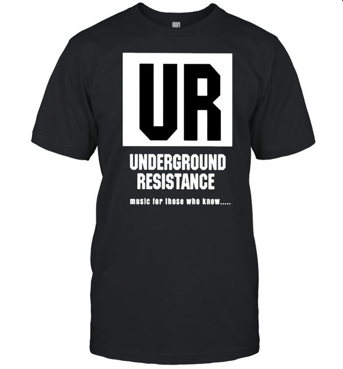 UR Underground Resistance music for those who know shirt Classic Men's T-shirt