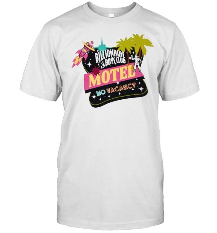 Billionaire Boys Club motel no vacancy shirt Classic Men's T-shirt