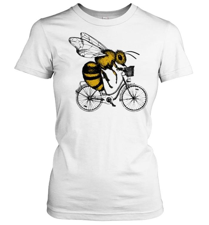Bee Cycling  Classic Women's T-shirt