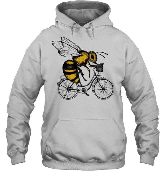 Bee Cycling  Unisex Hoodie