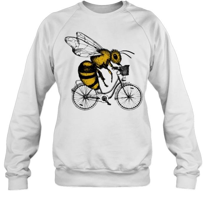 Bee Cycling  Unisex Sweatshirt
