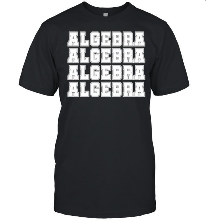 Algebra Math Teacher T-shirt Classic Men's T-shirt