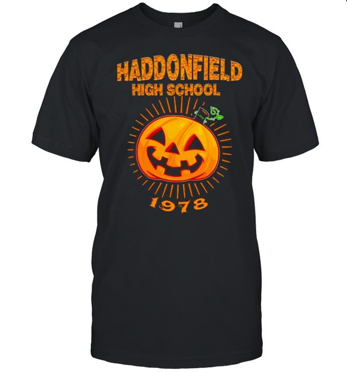Pumpkin haddonfield high school 1978 shirt