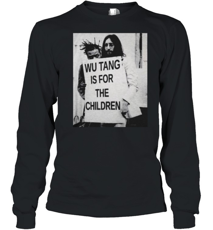 Wu Tang Is For The Children  Long Sleeved T-shirt