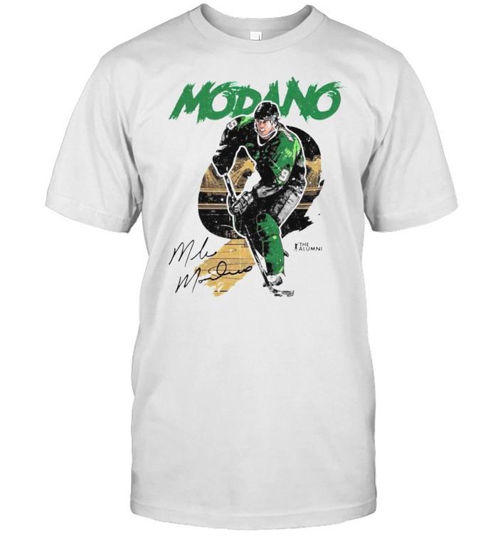 Dallas Stars Mike Modano signature shirt