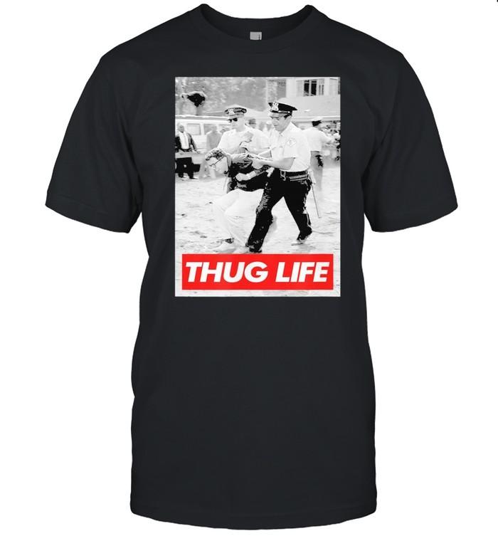 Bernie Sanders Protest Arrest Thug Life Shirt