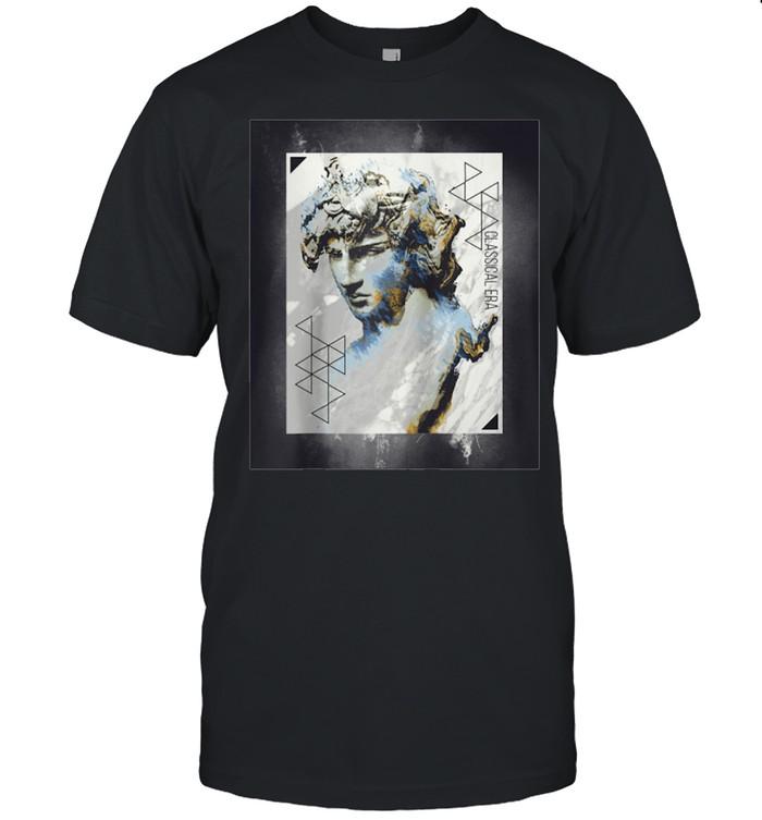 Vaporwave Aesthetic Retro 80s 90s Statue Japanese Statue Art shirt