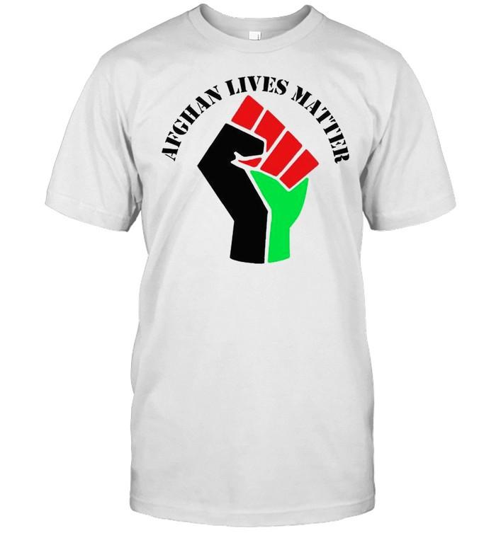 Juneteenth Afghanistan lives matter shirt