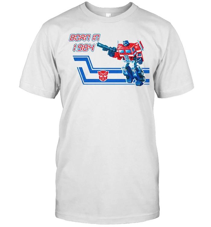 Transformers Optimus Prime born in 1984 shirt