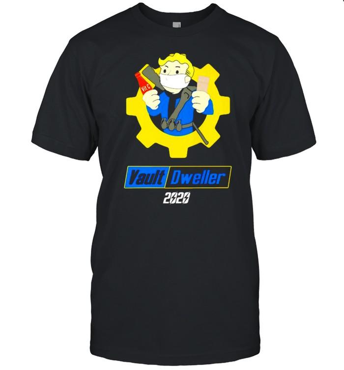 Vault Dweller 2020 covid-19 shirt