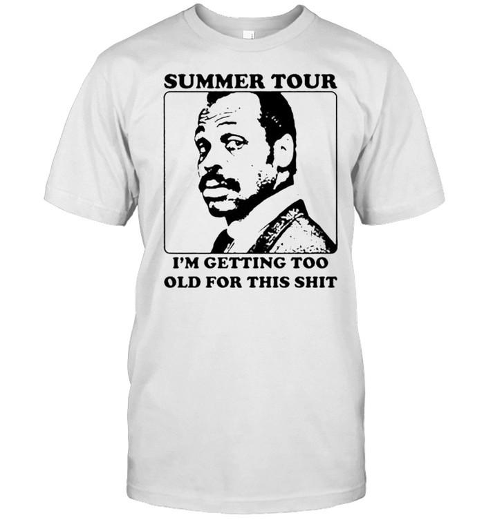 Roger Murtaugh summer tour shirt