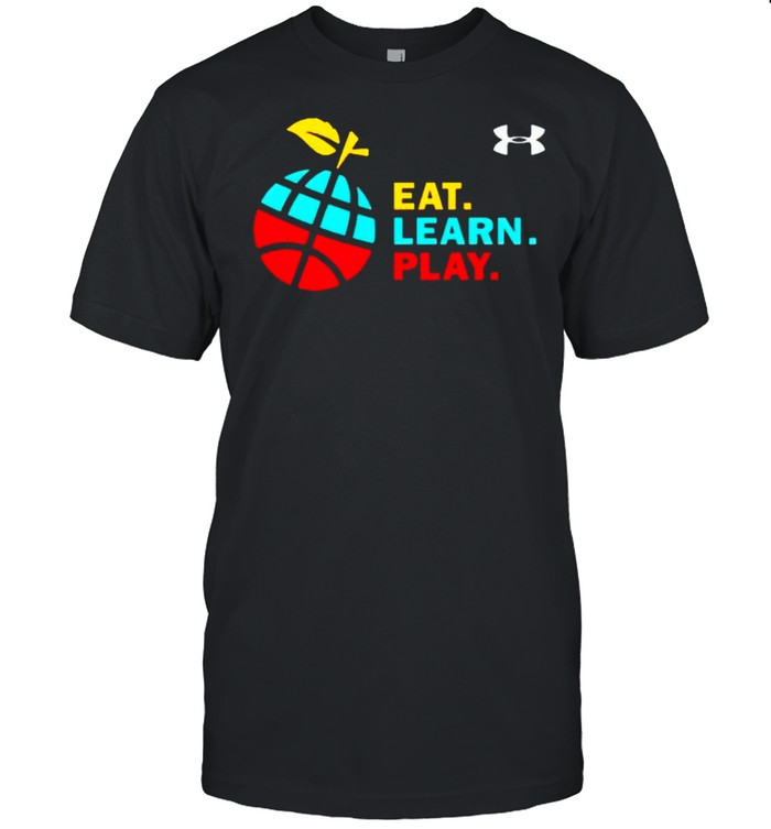 Stephen Curry eat learn play shirt