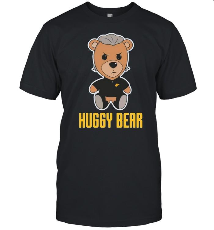 bob huggins huggy bear wv marty mush shirt