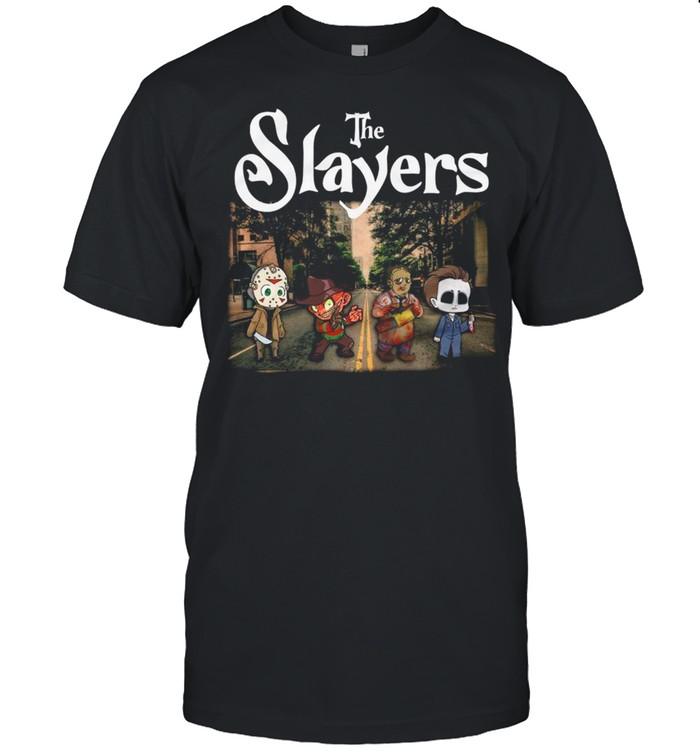 The Slayers Horror Chibi Abbey Road Happy Halloween  Classic Men's T-shirt