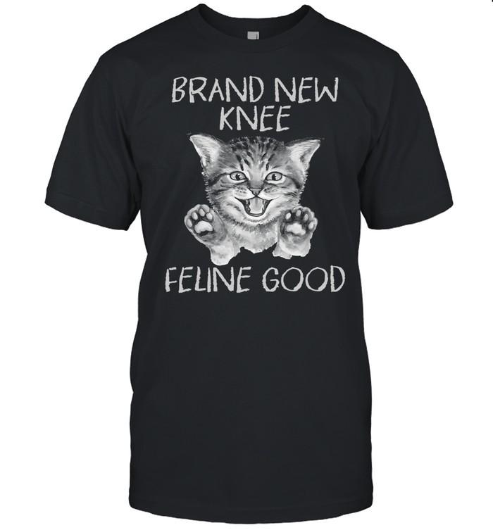 Cat Brand New Knee Feline Good  Classic Men's T-shirt