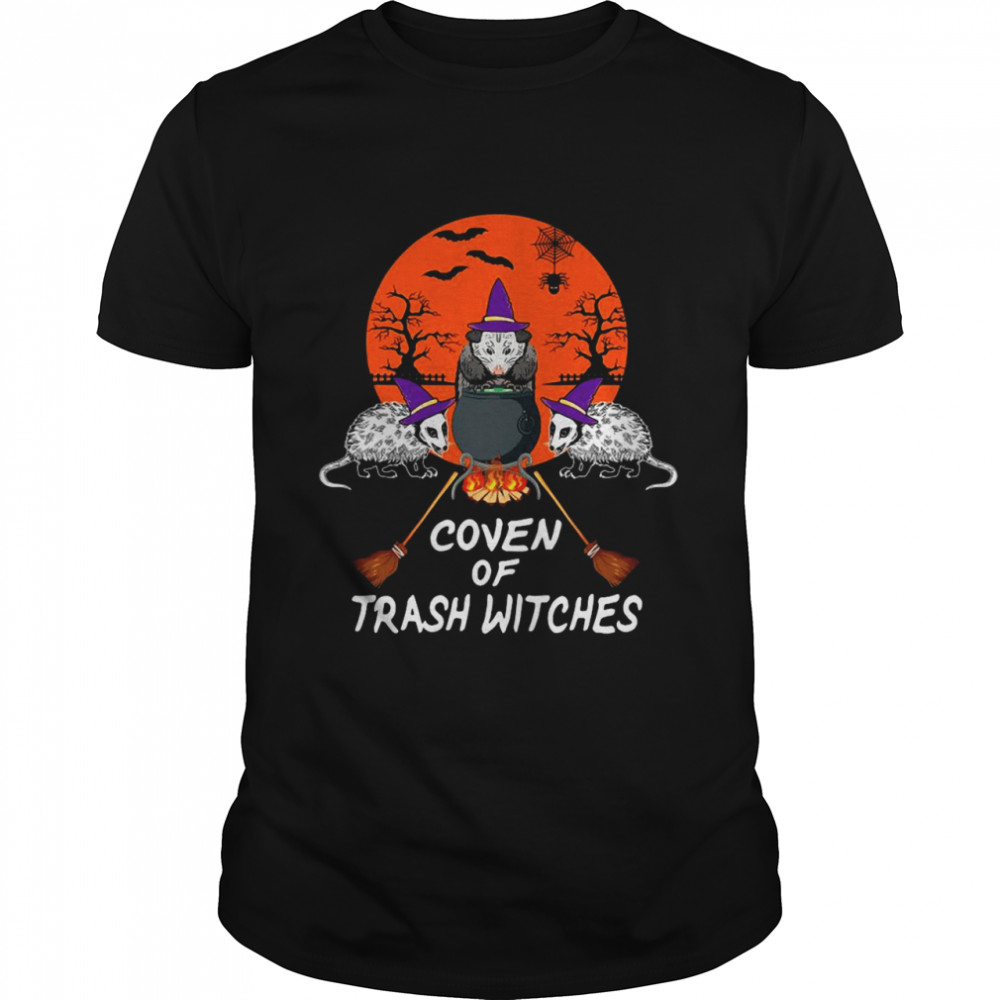 Halloween Opossum Coven Of Trash Witches T-shirt
