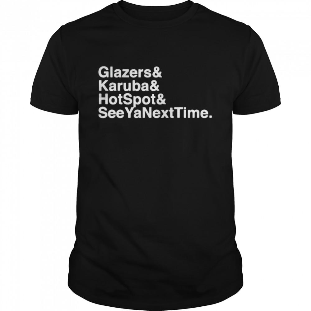 Glazers Karuba hotspot see yanesxttime shirt Classic Men's T-shirt