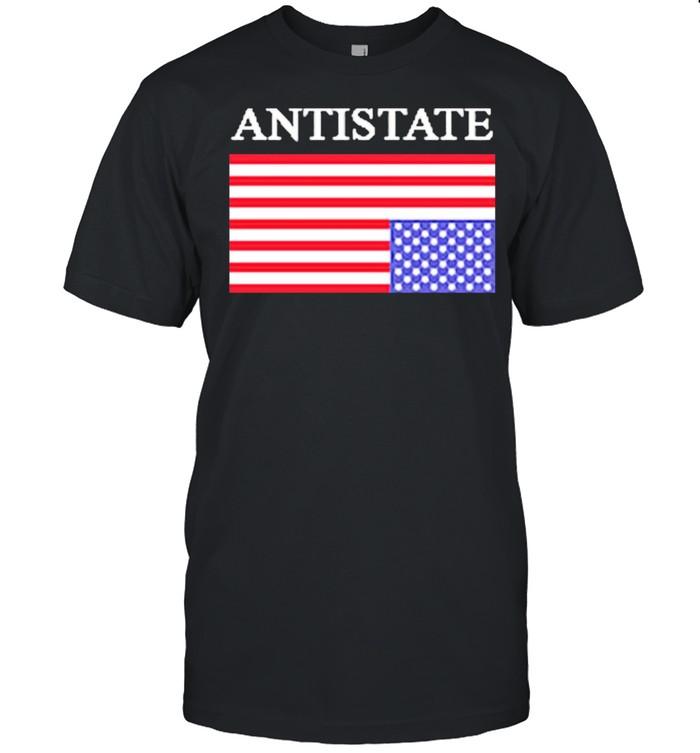 Antistate usa flag for shirt