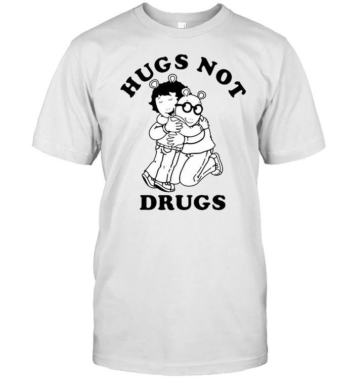 Arthur Hugs Not Drugs T-shirt