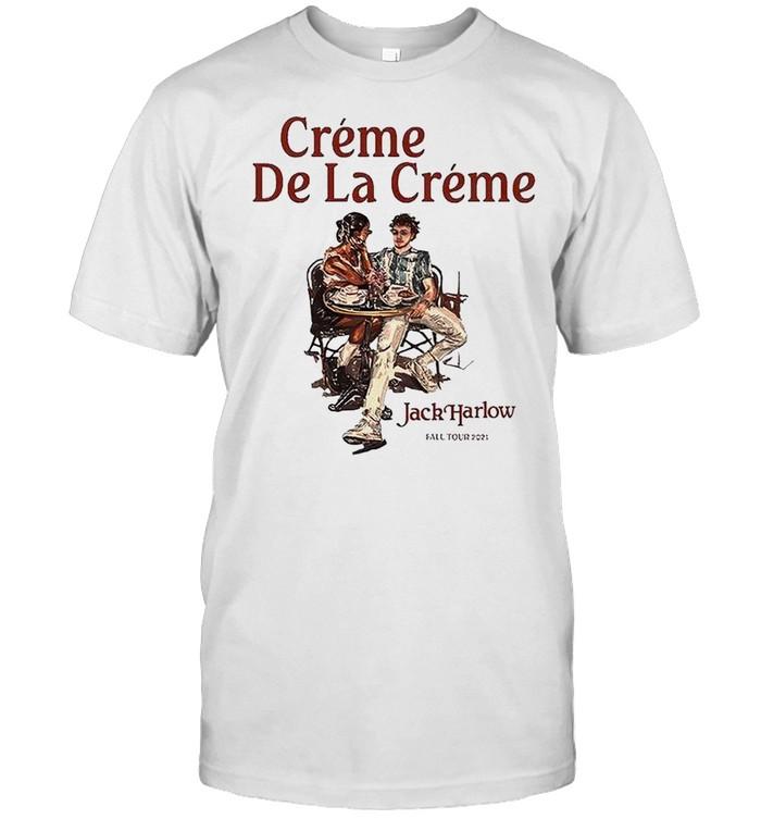 Jack Harlow Creme De La Creme fall tour 2021 T-shirt