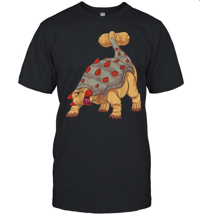 Ankylosaurus Dinosaur Prehistoric Armored Dinosaur Boys shirt
