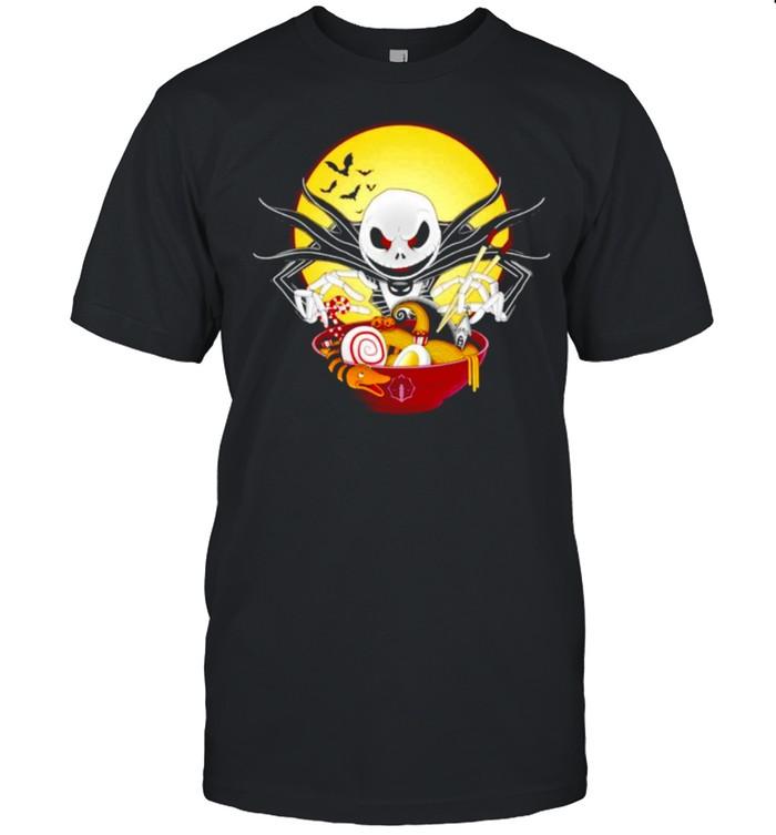 Jack Skellington spooky ramen shirt