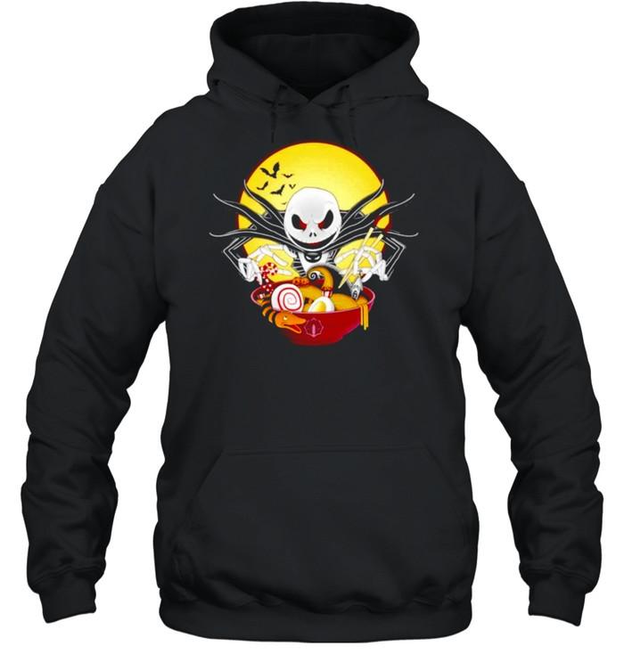 Jack Skellington spooky ramen shirt Unisex Hoodie