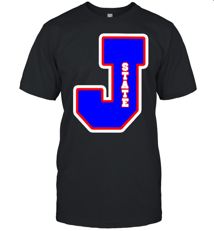 Jackson State Tigers J state letterman shirt