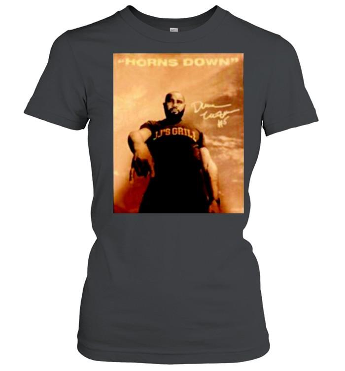 JJ's Grill horns down signature shirt Classic Women's T-shirt