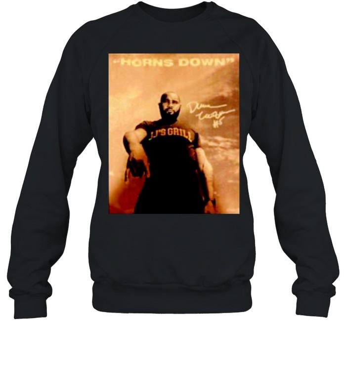 JJ's Grill horns down signature shirt Unisex Sweatshirt