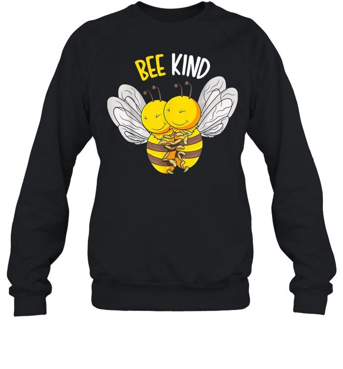 Bee Kind Bumble Bee Kindness  Unisex Sweatshirt