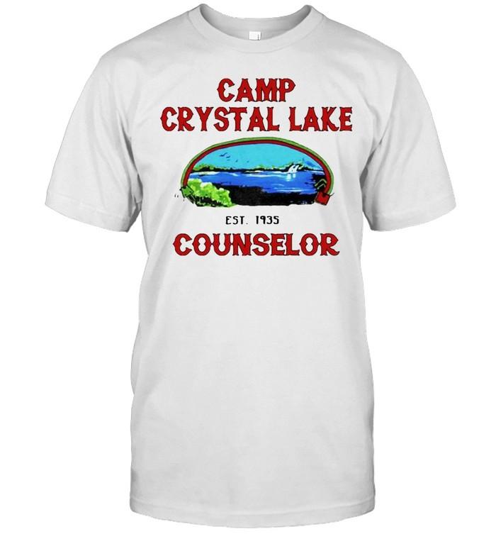 Camp crystal lake counselor est 1935 shirt