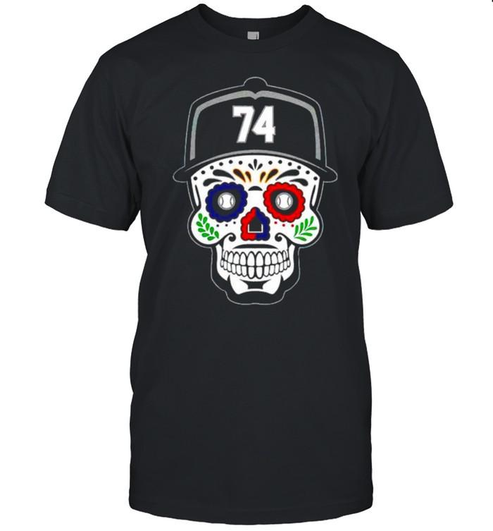 Eloy Jimenez #74 sugar skull shirt
