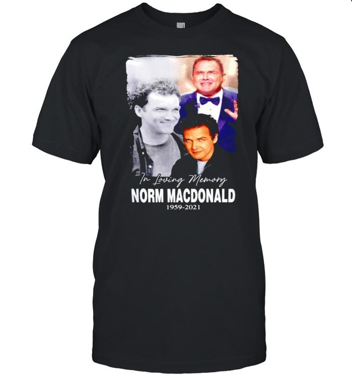 In loving memory Norm Macdonald 1959 2021  Classic Men's T-shirt