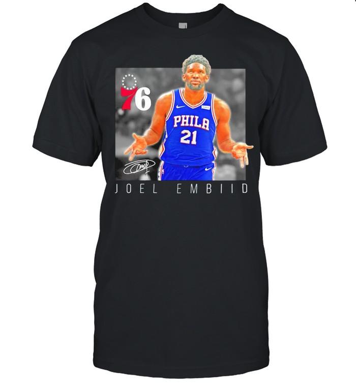 Joel Embiid Philadelphia 76ers heroes shirt