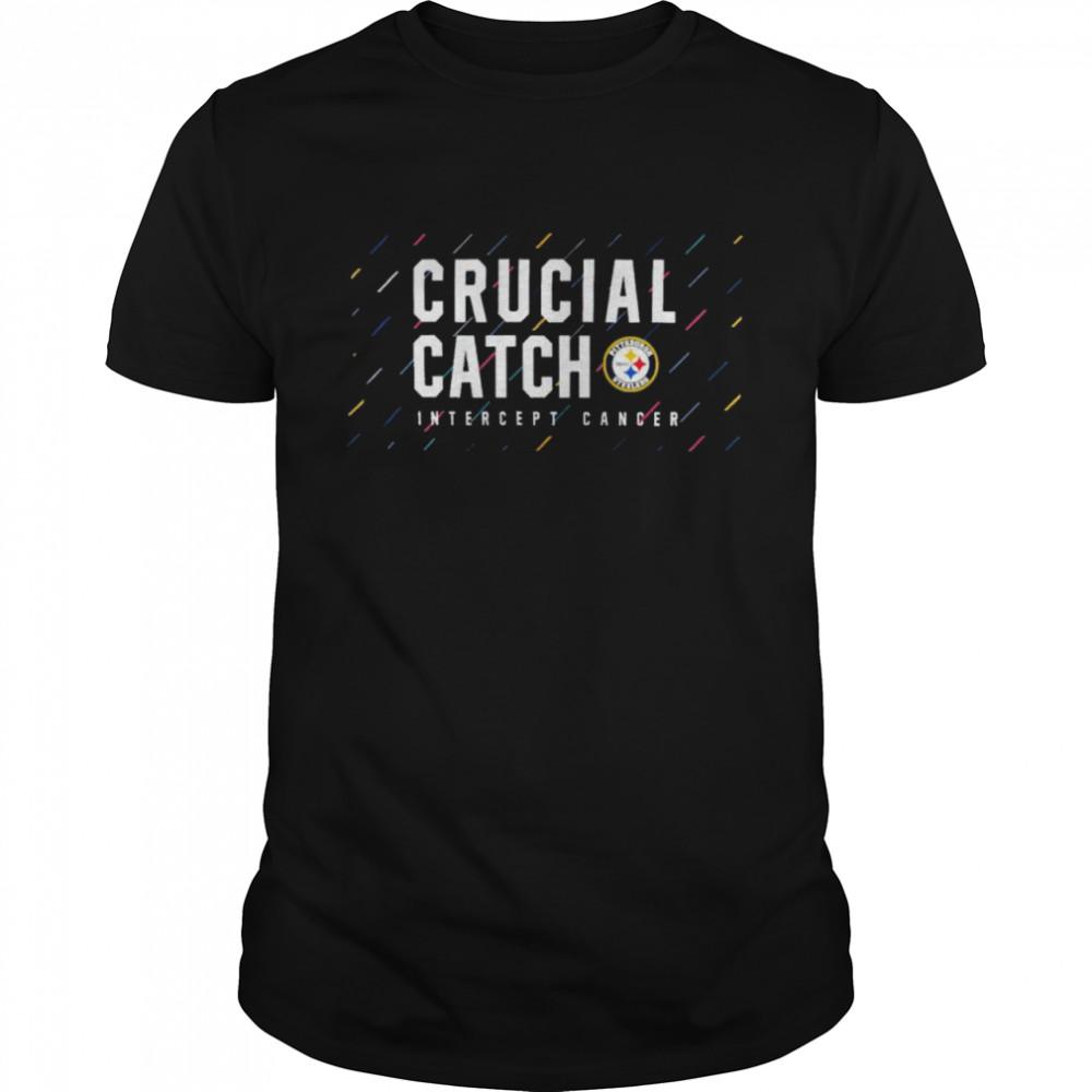 Pittsburgh Steelers 2021 crucial catch intercept cancer shirt