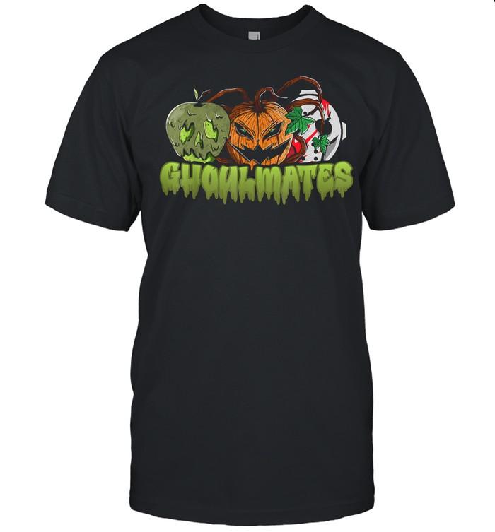 Ghoulmates Halloween Soulmates Pun shirt